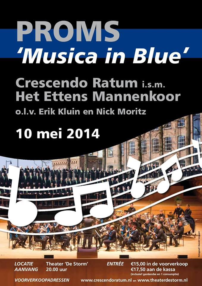 Proms Musica in Blue