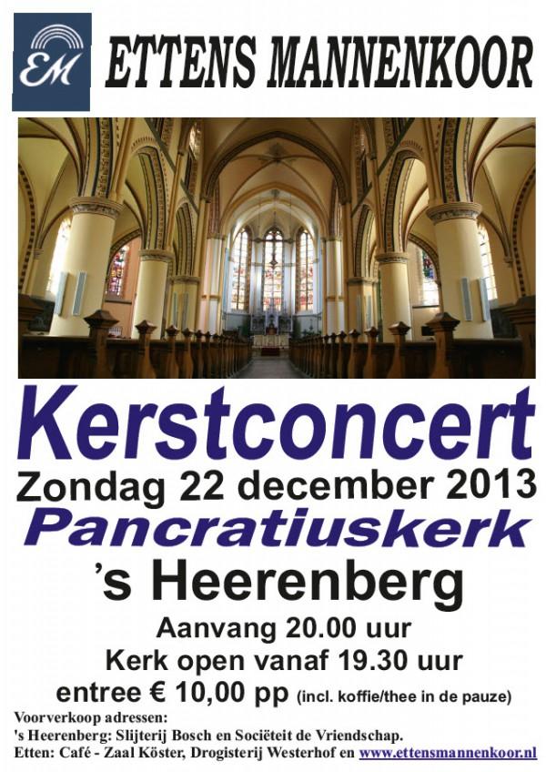 Toegangskaarten kerstconcert 's-Heerenberg