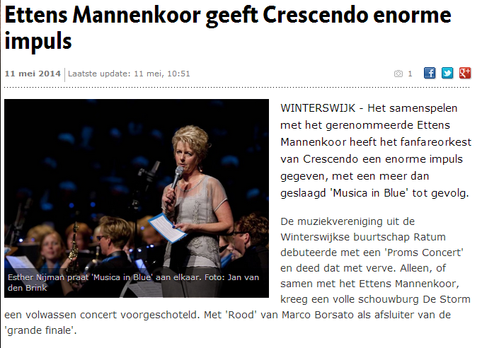 Gelderlander 11 mei 2014