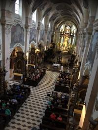 dag 2 - de mis in het Strahov klooster